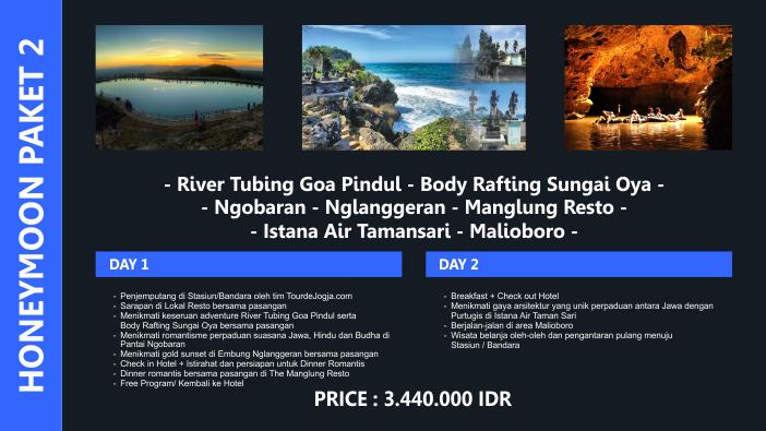 Paket Tour Honeymoon Jogja 2 Hari 1 Malam Murah 2018 2019 2020